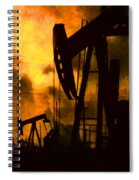 Oil Pumps Spiral Notebook