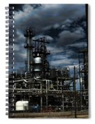 Oil Refinery Sinclair Wyoming Spiral Notebook