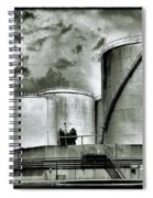 Oil Storage Tanks 1 Spiral Notebook