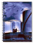 Oil Storage Tanks 2 Spiral Notebook