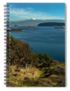 Oil Tankers Waiting Spiral Notebook