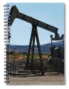 Oil Well  Pumper Spiral Notebook
