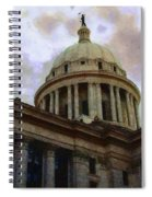 Oklahoma Capital Spiral Notebook