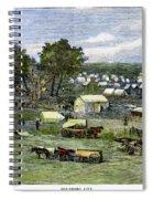 Oklahoma City, 1889 Spiral Notebook