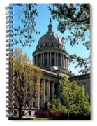Oklahoma City Capitol In The Spring Spiral Notebook