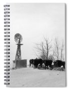 Oklahoma Dust Bowl, 1936 Spiral Notebook