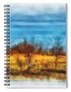 Oklahoma Hay Rolls Photo Art 03 Spiral Notebook