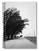 Oklahoma Route 66 2012 Bw Spiral Notebook