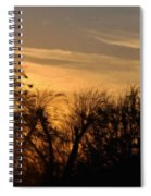 Oklahoma Sunset Spiral Notebook