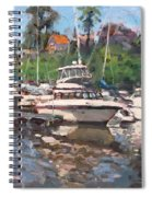 Olcott Yacht Club Spiral Notebook
