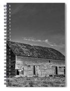 Old Abandoned Barn - D Rd Nw - Douglas County - Washington - May 2013 Spiral Notebook