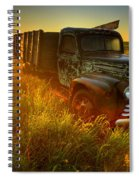 Old Abandoned Farm Truck Spiral Notebook