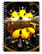 Old Airplane Propellers Spiral Notebook