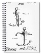 Old Anchor Patent Spiral Notebook