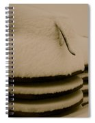 Old And Cold Spiral Notebook