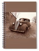 Old And Forgotten Spiral Notebook