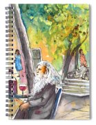 Old And Lonely In Italy 05 Spiral Notebook
