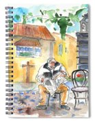 Old And Lonely In Tenerife 01 Spiral Notebook