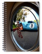 Old And New Ford Hotrods Spiral Notebook