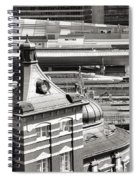 Old And New Tokyo Station Spiral Notebook