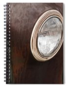 Old And Rusty Spiral Notebook