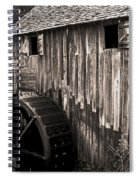 Old Appalachian Mill Spiral Notebook