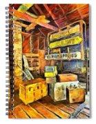 Old Baggage Claim Spiral Notebook