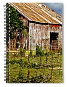 Old Barn #3 Spiral Notebook
