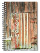 Old Barn Door Spiral Notebook