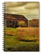 Old Barn In October Spiral Notebook