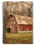 Old Barn Near Rhineland Mo Dsc09267 Spiral Notebook