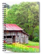 Old Barn Near Willamson Creek Spiral Notebook