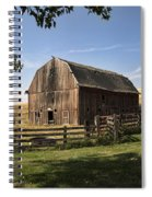 Old Barn On The Palouse Spiral Notebook