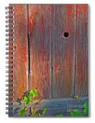 Old Barn Wood Spiral Notebook