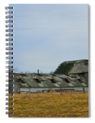 Old Barns In The Heartland Spiral Notebook