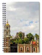 Old Basilica Of Guadalupe Spiral Notebook