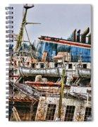 Old B.c. Ferry Spiral Notebook