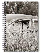 Old Beetle Spiral Notebook