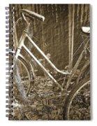 Old Bikes Spiral Notebook