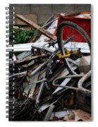 Old Bikes - Series I Spiral Notebook
