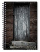 Old Blacksmith Shop Door Spiral Notebook
