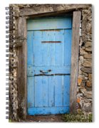 Old Blue Door Spiral Notebook