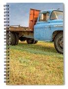 Old Blue Farm Truck Spiral Notebook