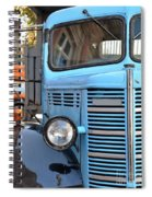 Old Blue Jalopy Truck Spiral Notebook