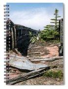 Old Boat Spiral Notebook