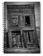 Old Bodie Building Spiral Notebook