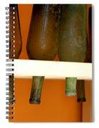Old Bottles Spiral Notebook