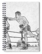 Old Boxing Old Time Spiral Notebook