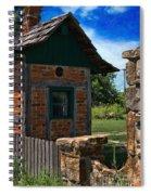 Old Brick Shed Spiral Notebook