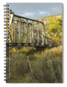 Old Bridge At La Boca Spiral Notebook